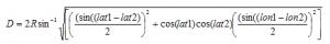 Distance equation